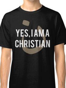 Yes, I am a  Christian Nun Symbol Classic T-Shirt