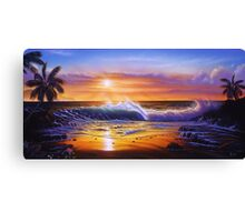 Hawaiian daybreak Canvas Print