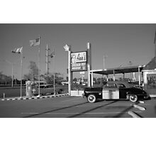 Route 66 - Ann's Chicken Fry House Photographic Print