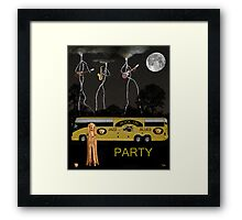 Jazz Blues Party Framed Print