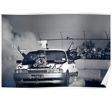 H8TRED Tread Cemetery Burnout Poster