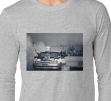 H8TRED Tread Cemetery Burnout Long Sleeve T-Shirt