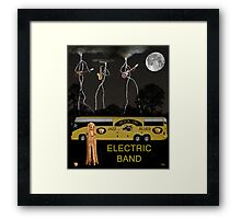 Jazz Blues Electric Band Framed Print