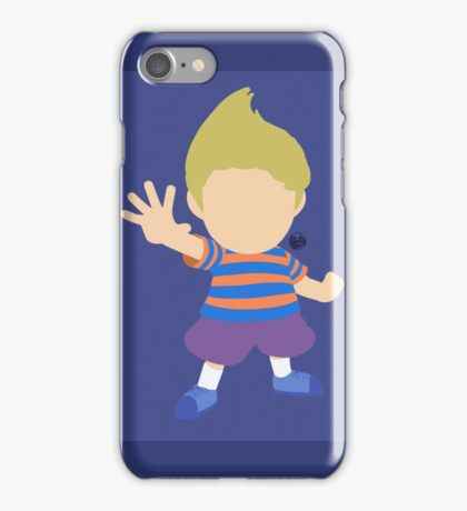 Lucas (Blue) - Super Smash Bros. iPhone Case/Skin