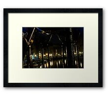 Through Bicycles Framed Print