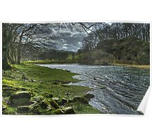 The River Brathay by Elterwater Poster