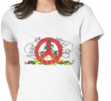 Make the World go Round Womens Fitted T-Shirt