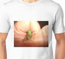 Safe in my hand...a katydid T-Shirt