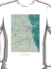 Chicago Blue Vintage T-Shirt