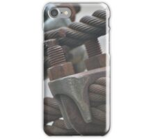Cable Clamps iPhone Case/Skin