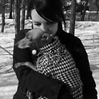 A Girl with her greyhound by homesick