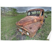 Old Truck - South Texas Poster