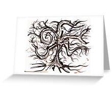 The Useless Tree Greeting Card