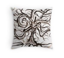 The Useless Tree Throw Pillow