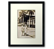 Miami, Florida Honeymoon 1945 Framed Print
