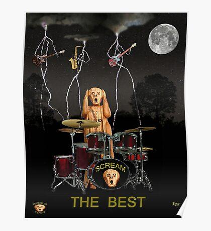 Scream Flash Band Poster
