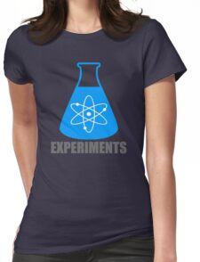 Beaker Chemistry Experiments Womens Fitted T-Shirt