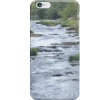 Willamette River in Cottage Grove, Oregon iPhone Case/Skin