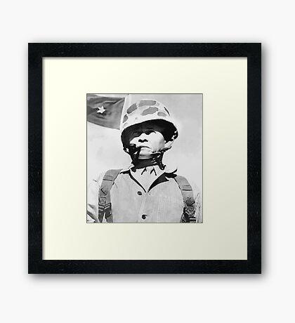 "General Lewis ""Chesty"" Puller Framed Print"
