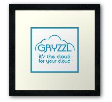 gryzzl Framed Print