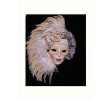 Ceramic Mask Art Print