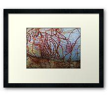 """""""Tracks"""" Framed Print"""