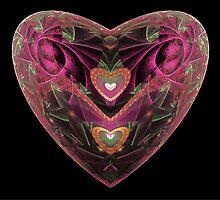 Escher Purple Heart  (UF0210) by barrowda