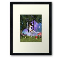 Quiet Contemplation Framed Print