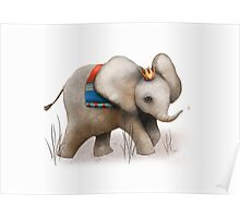 The Baby Elephant Prince Poster