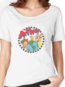 Arthur and DW Women's Relaxed Fit T-Shirt