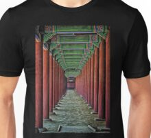 Courtyard Colonnade Unisex T-Shirt