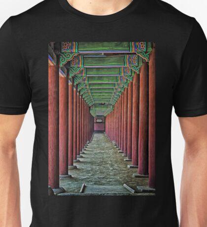 Courtyard Colonnade Unisex T-Shirt