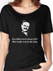 Boy meets world: Mr. Feeny  Women's Relaxed Fit T-Shirt