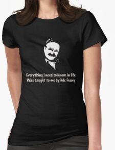 Boy meets world: Mr. Feeny  Womens Fitted T-Shirt