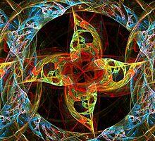 Fun Pinwheel Fractal by Charldia