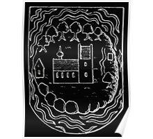 Anders Thiset Hearldry Hindsholm Herreds våben 1584 Inverted Poster