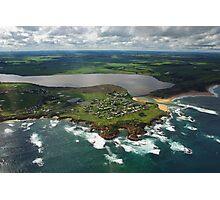 Aerial Great Ocean Road Victoria Australia Photographic Print