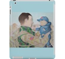 Welcome Home, Soldier iPad Case/Skin