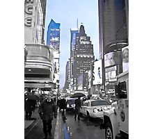 New York in Blue Photographic Print
