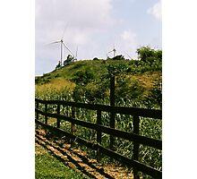 North Shore Windmills Photographic Print