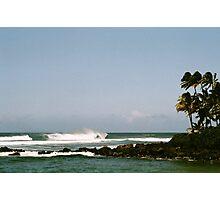 North Shore Waves Photographic Print
