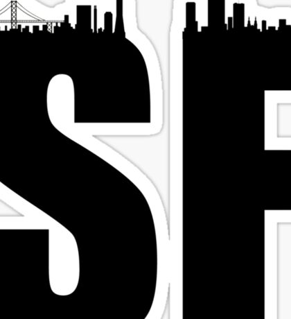 SF-Skyline Sticker