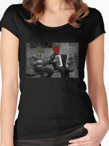 Musical Produce Women's Fitted Scoop T-Shirt