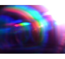 DIGITAL RAINBOW 1 Photographic Print