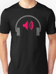 Earphone Music T-Shirt
