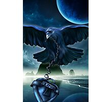 Raven Love Photographic Print