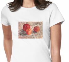 Red apples Womens Fitted T-Shirt