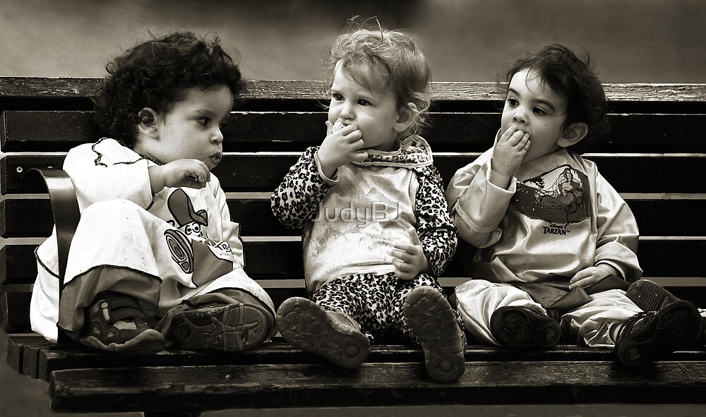 The three (little) stooges by JudyBJ