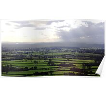 The English Countryside Poster