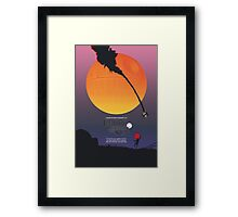 Empire of the Binary Sun Framed Print